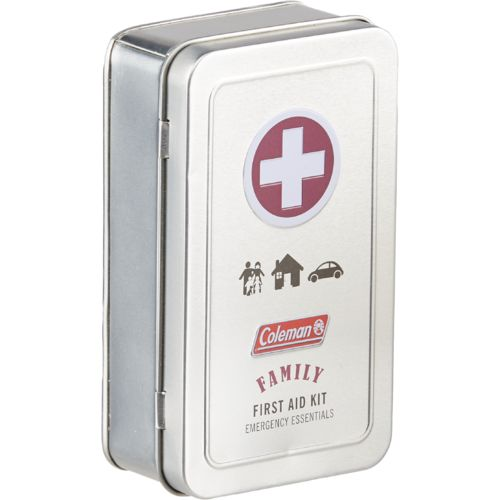 Coleman™ Family 82-Piece First Aid Tin