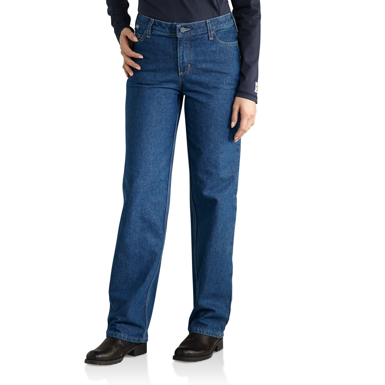 Carhartt Women's Flame Resistant Utility Denim Jean