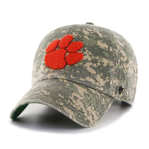 '47 Clemson University Officer Camo Clean-Up Cap