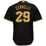 Majestic Men's Pittsburgh Pirates Francisco Cervelli #29 Cool Base Replica Jersey - view number 1