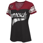 G-III for Her Women's University of South Carolina Pass Rush Fashion Top