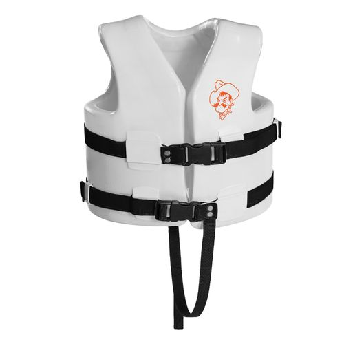 TRC Recreation Kids' Oklahoma State University Super Soft™ Life Vest - view number 1
