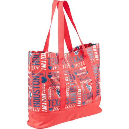 Team Beans Women's Houston Texans Collage Tote Bag