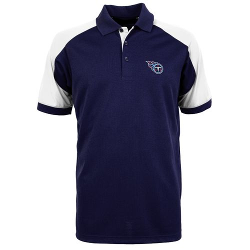 Antigua Men's Tennessee Titans Century Polo Shirt