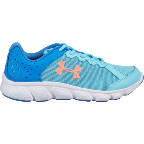 Under Armour Girls' Grade School UA Micro G Assert 6 Running Shoes - view number 1