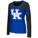 Colosseum Athletics™ Women's University of Kentucky Hornet Football Long Sleeve Shirt