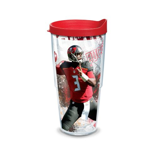 Tervis Tampa Bay Buccaneers Jameis Winston 24 oz. Tumbler with Lid