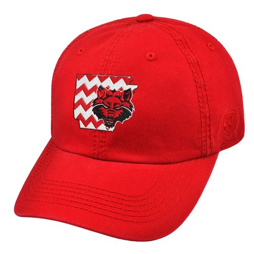 Top of the World Women's Arkansas State University Chevron Crew Cap