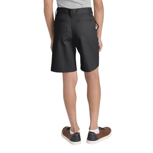 Dickies Boys' Flat Front Husky Uniform Short - view number 2