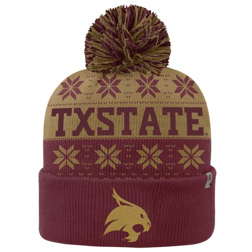 Top of the World Men's Texas State University Subarctic Knit Cap