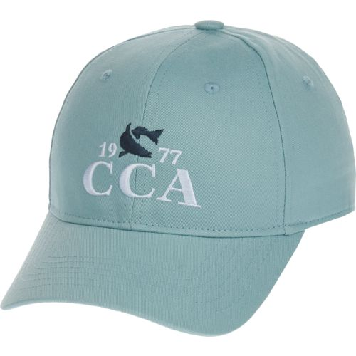 CCA Men's 77 Fish Logo Solid Cap