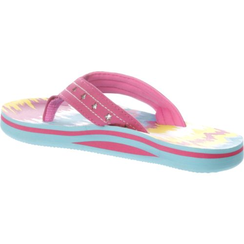 O'Rageous Girls' Wave Flip-Flops - view number 3