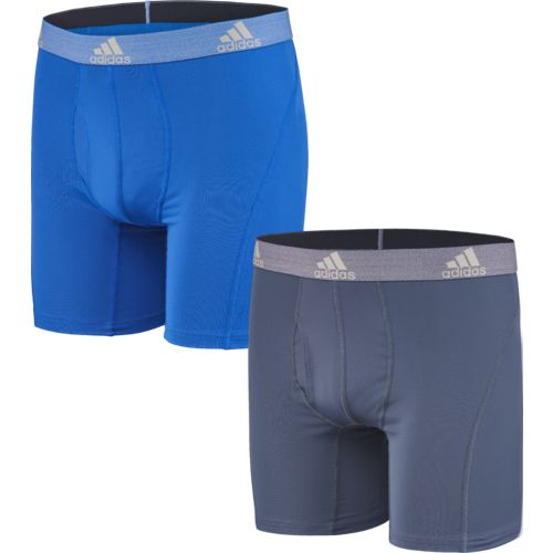 Display product reviews for adidas Men's Relaxed Performance climalite Boxer Briefs 2-Pack