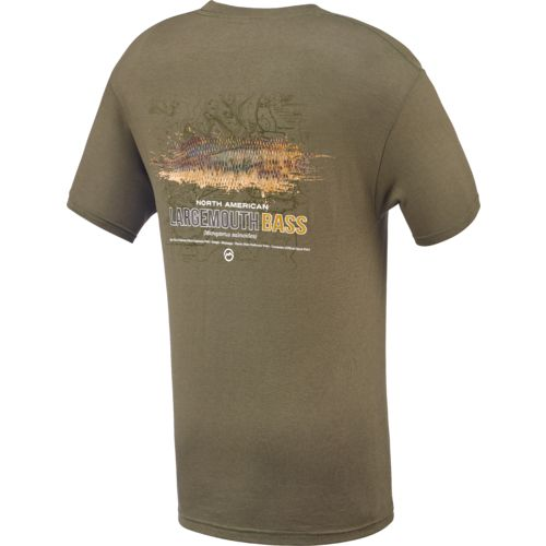 Magellan Outdoors™ Men's Largemouth Bass Short Sleeve T-shirt