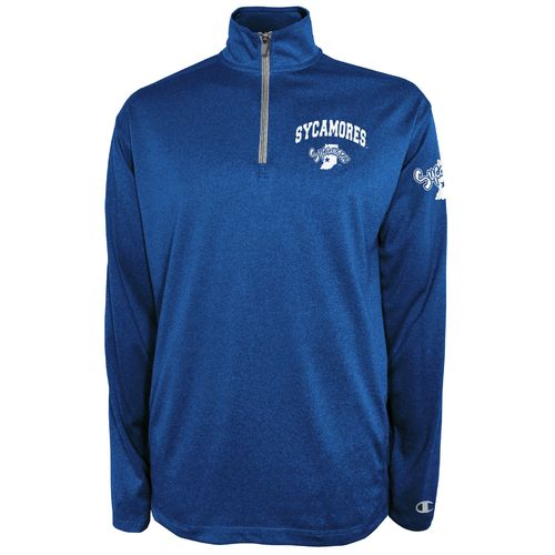 Champion™ Men's Indiana State University Victory 1/4 Zip Pullover