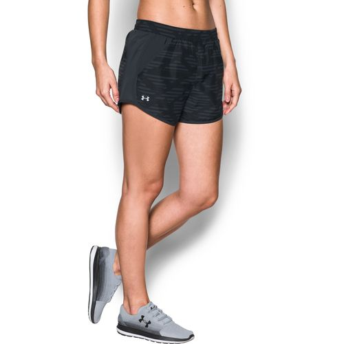 Under Armour Women's Fly By Printed Running Short - view number 3