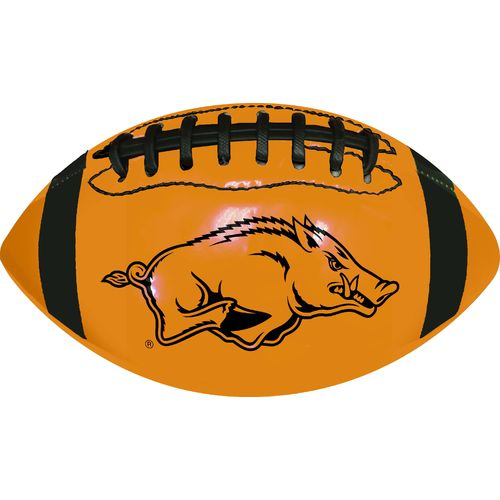 GameMaster University of Arkansas Neon Mini Rubber Football