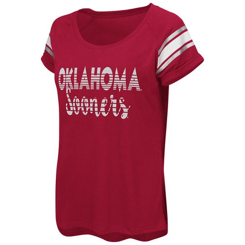 Colosseum Athletics™ Women's University of Oklahoma Karate Cuffed Raglan T-shirt