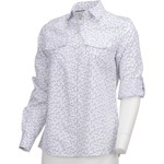 Magellan Outdoors Women's Cute Catch Long Sleeve Roll Up Printed Fishing Top - view number 1