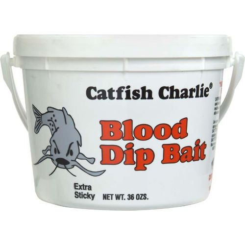 Display product reviews for Catfish Charlie Blood Dip Bait