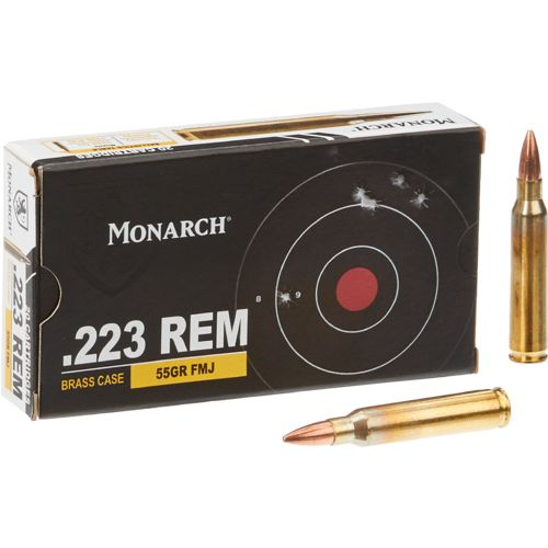 Monarch® FMJ .223 Remington 55-Grain Rifle Ammunition