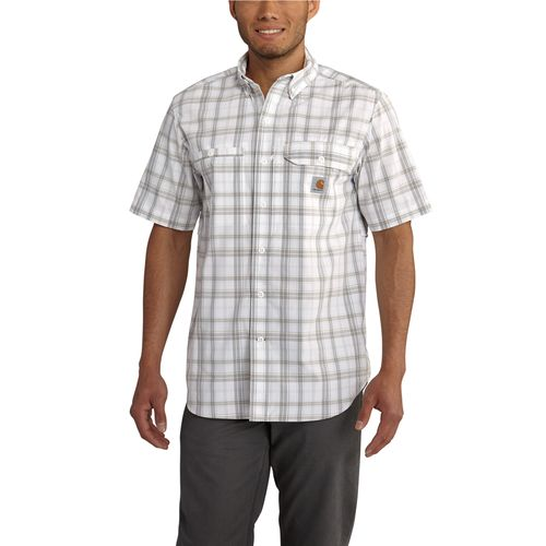 Carhartt Men's Force Ridgefield Plaid Short Sleeve Shirt