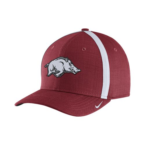 Nike Men's University of Arkansas AeroBill Sideline Coaches Cap