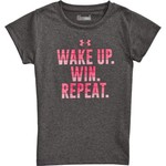 Under Armour Girls' Wake Up, Win, Repeat T-shirt - view number 4