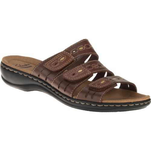 Clarks® Women's 3-Strap Adjustable Sandals - view number 2