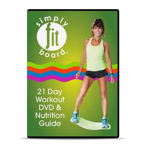 Simply Fit Board 21 Day Challenge Workout DVD