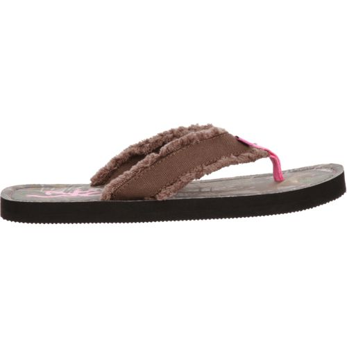 Display product reviews for Browning™ Women's Bayou Realtree Xtra® Canvas Flip-Flops