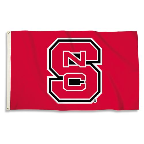BSI North Carolina State University 3' x 5' Fan Flag - view number 1