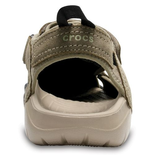 Crocs™ Men's Swiftwater Suede Fisherman Sandals - view number 3