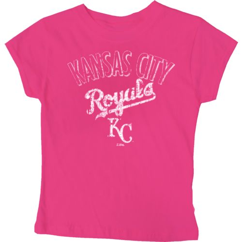 Stitches Girls' Kansas City Royals City Arch T-shirt