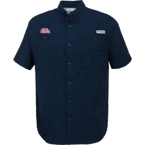 Columbia sportswear men 39 s university of mississippi for College button down shirts