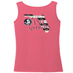 Image One Women's Florida State University Comfort Color Tank Top - view number 1