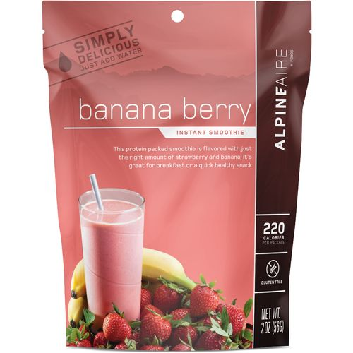 Katadyn Alpine Aire Foods Banana Berry 2 oz Instant Smoothie