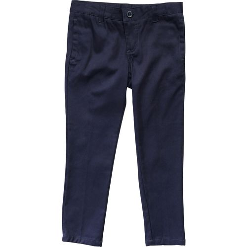 French Toast Girls' Skinny Stretch Twill Uniform Pant
