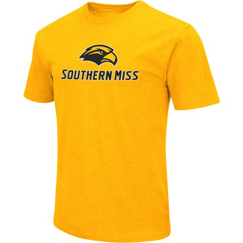 Colosseum Athletics Men's University of Southern Mississippi Logo Short Sleeve T-shirt