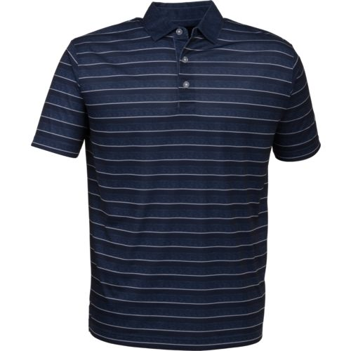 Callaway Men's Heather Stripe Performance Golf Polo Shirt