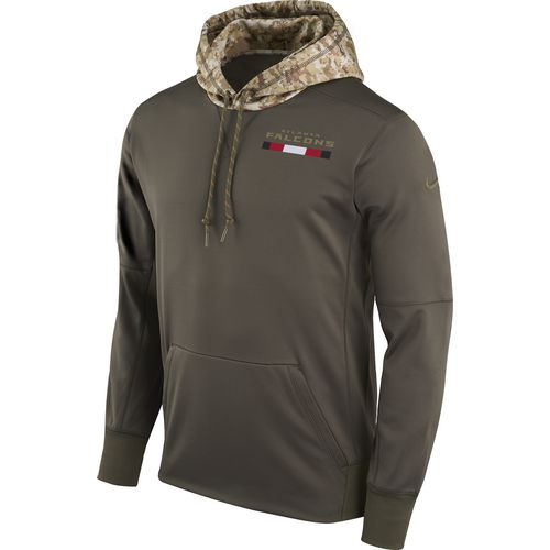 Nike Men's Atlanta Falcons Salute To Service '17 Therma Hoodie