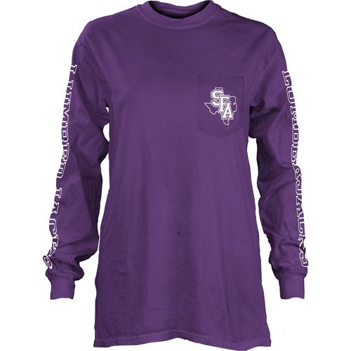 Three Squared Juniors' Stephen F. Austin State University Mystic Long Sleeve T-shirt