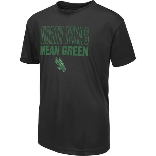 Colosseum Athletics Boys' University of North Texas Team Mascot T-shirt