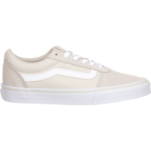 beige low top vans