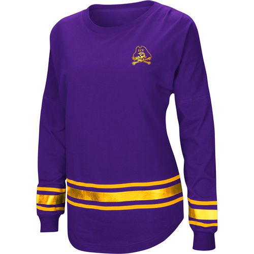 Colosseum Athletics Women's East Carolina University Humperdinck Oversize Long Sleeve T-shirt