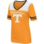 Colosseum Athletics Women's University of Tennessee Twist 2.1 V-Neck T-shirt - view number 1