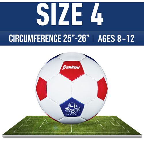 Franklin USA Size 4 Soccer Ball - view number 2