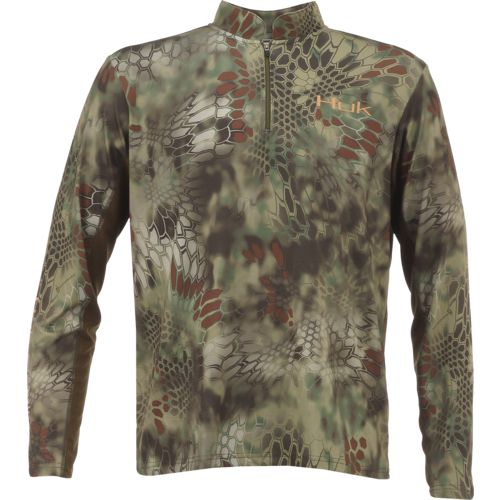 Display product reviews for Huk Men's Kryptek Icon 1/4 Zip Top