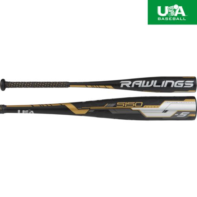 Display product reviews for Rawlings 2018 5150 Alloy Senior League Baseball Bat -5