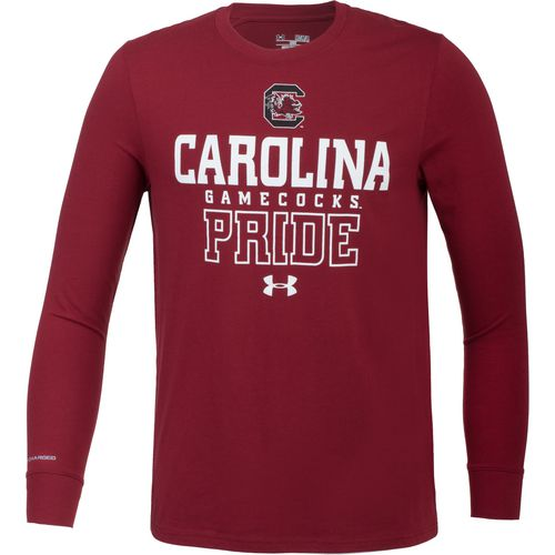 Under Armour Men's University of South Carolina Charged Cotton Long Sleeve T-shirt
